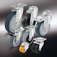 Колеса для тележек: Аппаратные колёса и ролики
