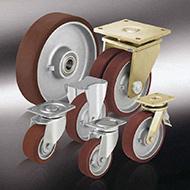 Колеса для тележек: Большегрузные колёса и ролики с литым полиуретановым контактным слоем Blickle Besthane®