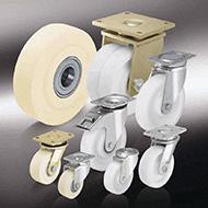 Колеса для тележек: Большегрузные колёса и ролики из полиамида