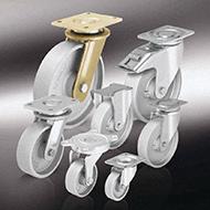 Колеса для тележек: Колёса и ролики из чугуна