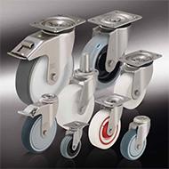 Колеса для тележек: Ролики из нержавеющей стали