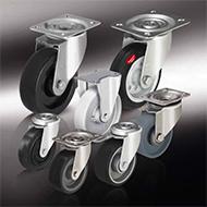 Колеса для тележек: Жаростойкие колёса и ролики