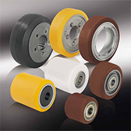 Колеса для тележек: Колёса и ролики для гидравлических тележек, погрузчиков и другого подъёмно-транспортного оборудования
