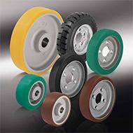 Колеса для тележек: Приводные колёса и колёса с фланцевым креплением