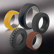 Колеса для тележек: Шины и бандажные шины